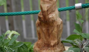 Woodland Carving Squirrel  -  Clayton