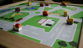 Small World Table  -  Roadway