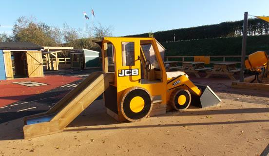 JCB Timber Digger