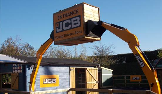 JCB Digger Arms Entrance