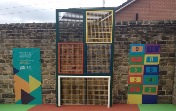 Number Boxes, 1.2m x 2.4m